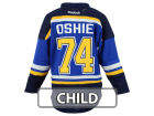 St. Louis Blues TJ Oshie Reebok NHL Kids Screen Jersey Jerseys
