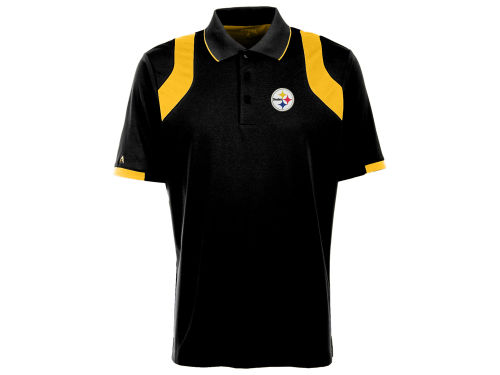 Pittsburgh Steelers Antigua NFL Fusion Polo