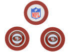 San Francisco 49ers Team Golf Golf Poker Chip Markers 3 Pack Toys & Games