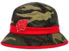 Wisconsin Badgers Top of the World NCAA Sneak Attack Bucket Hats