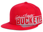Ohio State Buckeyes J America NCAA Fitted Hat Hats