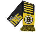 Boston Bruins Forever Collectibles Knit Scarf Wordmark Apparel & Accessories