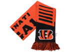 Cincinnati Bengals Forever Collectibles Knit Scarf Wordmark Apparel & Accessories