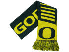 Oregon Ducks Forever Collectibles Knit Scarf Wordmark Apparel & Accessories