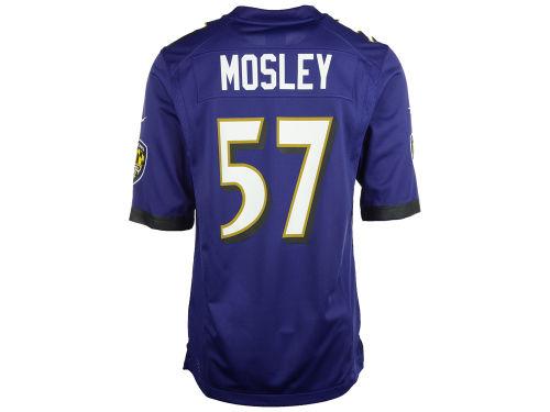 7c925d3d Baltimore Ravens Nike Purple C.J. Mosley Nike NFL Men's Game Jersey ...