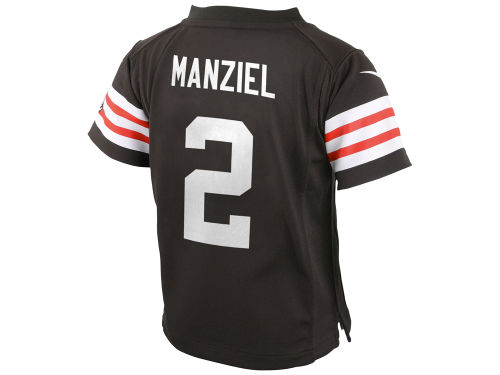 Cleveland Browns Johnny Manziel Nike NFL Infant Game Jersey