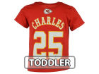 Kansas City Chiefs Jamaal Charles Outerstuff NFL Toddler Mainliner Player T-Shirt T-Shirts