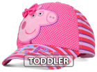 Peppa Pig Peppa Pig Toddlers 3D Satin Bow Striped Baseball Cap Adjustable Hats