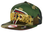 Atlanta Falcons New Era NFL Metallic Cue Original Fit 9FIFTY Snapback Cap Adjustable Hats