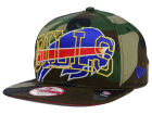 Buffalo Bills New Era NFL Metallic Cue Original Fit 9FIFTY Snapback Cap Adjustable Hats