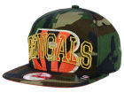 Cincinnati Bengals New Era NFL Metallic Cue Original Fit 9FIFTY Snapback Cap Adjustable Hats