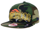 Denver Broncos New Era NFL Metallic Cue Original Fit 9FIFTY Snapback Cap Adjustable Hats