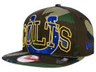 Indianapolis Colts New Era NFL Metallic Cue Original Fit 9FIFTY Snapback Cap Adjustable Hats