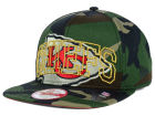 Kansas City Chiefs New Era NFL Metallic Cue Original Fit 9FIFTY Snapback Cap Adjustable Hats