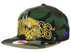 Minnesota Vikings New Era NFL Metallic Cue Original Fit 9FIFTY Snapback Cap Adjustable Hats