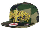 New Orleans Saints New Era NFL Metallic Cue Original Fit 9FIFTY Snapback Cap Adjustable Hats
