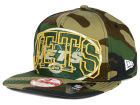 New York Jets New Era NFL Metallic Cue Original Fit 9FIFTY Snapback Cap Adjustable Hats