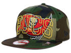 Tampa Bay Buccaneers New Era NFL Metallic Cue Original Fit 9FIFTY Snapback Cap Adjustable Hats