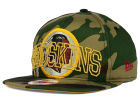 Washington Redskins New Era NFL Metallic Cue Original Fit 9FIFTY Snapback Cap Adjustable Hats