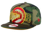 Atlanta Hawks New Era NBA HWC Metallic Cue Original Fit 9FIFTY Snapback Cap Adjustable Hats