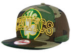 Boston Celtics New Era NBA HWC Metallic Cue Original Fit 9FIFTY Snapback Cap Adjustable Hats