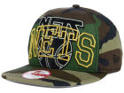 New Jersey Nets New Era NBA HWC Metallic Cue Original Fit 9FIFTY Snapback Cap Adjustable Hats