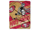 San Francisco 49ers The Northwest Company Micro Raschel 46x60 Deep Slant Bed & Bath