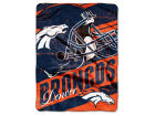 Denver Broncos The Northwest Company Micro Raschel 46x60 Deep Slant Bed & Bath