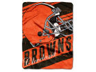 Cleveland Browns The Northwest Company Micro Raschel 46x60 Deep Slant Bed & Bath