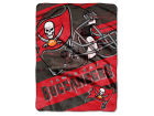 Tampa Bay Buccaneers The Northwest Company Micro Raschel 46x60 Deep Slant Bed & Bath
