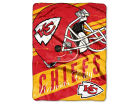 Kansas City Chiefs The Northwest Company Micro Raschel 46x60 Deep Slant Bed & Bath