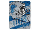 Detroit Lions The Northwest Company Micro Raschel 46x60 Deep Slant Bed & Bath