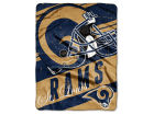 St. Louis Rams The Northwest Company Micro Raschel 46x60 Deep Slant Bed & Bath