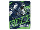 Seattle Seahawks The Northwest Company Micro Raschel 46x60 Deep Slant Bed & Bath