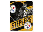 Pittsburgh Steelers The Northwest Company Micro Raschel 46x60 Deep Slant Bed & Bath