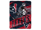 Houston Texans The Northwest Company Micro Raschel 46x60 Deep Slant Bed & Bath
