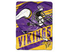 Minnesota Vikings The Northwest Company Micro Raschel 46x60 Deep Slant Bed & Bath