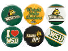 Wright State Raiders Wincraft 6 Pack Buttons Pins, Magnets & Keychains