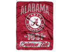 Alabama Crimson Tide The Northwest Company Micro Raschel 46x60 Varsity Bed & Bath