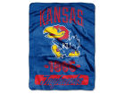 Kansas Jayhawks The Northwest Company Micro Raschel 46x60 Varsity Bed & Bath