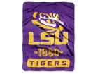 LSU Tigers The Northwest Company Micro Raschel 46x60 Varsity Bed & Bath