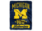 Michigan Wolverines The Northwest Company Micro Raschel 46x60 Varsity Bed & Bath