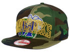 Dallas Mavericks New Era NBA HWC Metallic Cue Original Fit 9FIFTY Snapback Cap Adjustable Hats