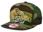 Detroit Pistons New Era NBA HWC Metallic Cue Original Fit 9FIFTY Snapback Cap Adjustable Hats