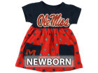 Mississippi Rebels Klutch College NCAA Newborn Polka Dot Dress Infant Apparel