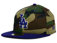 New Era MLB Camo Team Pop 59FIFTY Cap Fitted Hats