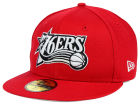Philadelphia 76ers New Era NBA HWC Back To Basic 59FIFTY Cap Fitted Hats
