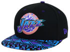 Utah Jazz New Era NBA HWC Cross Colors 9FIFTY Snapback Cap Adjustable Hats