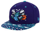 Charlotte Hornets New Era NBA HWC Cross Colors 9FIFTY Snapback Cap Adjustable Hats