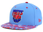 New Jersey Nets New Era NBA HWC Cross Colors 9FIFTY Snapback Cap Adjustable Hats
